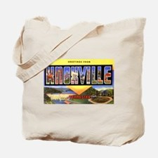 Knoxville Tennessee Greetings Tote Bag