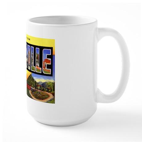 Knoxville Tennessee Greetings Large Mug