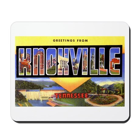 Knoxville Tennessee Greetings Mousepad