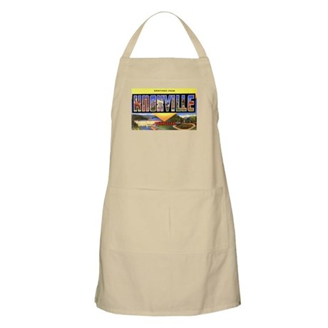 Knoxville Tennessee Greetings BBQ Apron