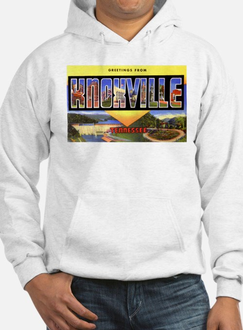 Knoxville Tennessee Greetings (Front) Hoodie