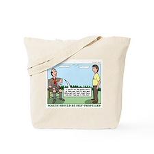Scout Run Tote Bag