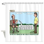 Scout Run Shower Curtain