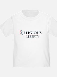 Romney Ryan: Religious Liberty T