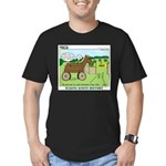 Trojan Horse Men's Fitted T-Shirt (dark)