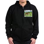 Trojan Horse Zip Hoodie (dark)