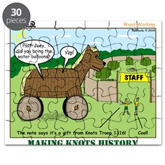 Trojan Horse Puzzle