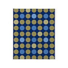 Modern Dots 02 Throw Blanket