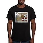 Wildlife Management Men's Fitted T-Shirt (dark)