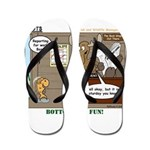 Wildlife Management Flip Flops