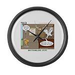 Wildlife Management Large Wall Clock