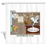 Wildlife Management Shower Curtain