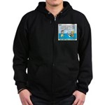 Lifesaving Zip Hoodie (dark)