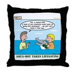 Lifesaving Throw Pillow