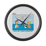 Lifesaving Large Wall Clock