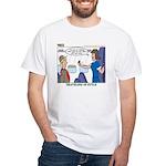 First Class White T-Shirt