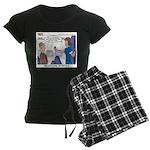 First Class Women's Dark Pajamas