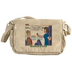 First Class Messenger Bag