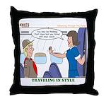 First Class Throw Pillow