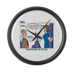 First Class Large Wall Clock