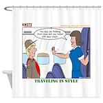 First Class Shower Curtain