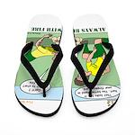 Fire Safety Flip Flops
