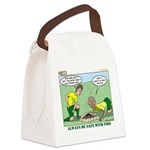 Fire Safety Canvas Lunch Bag