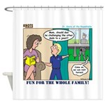 Knights Shower Curtain