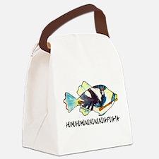 Humuhumunukunukuapua'a Fish Canvas Lunch Bag