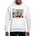 Cross Over Hooded Sweatshirt