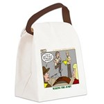 Cross Over Canvas Lunch Bag
