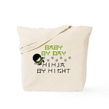 Baby Ninja Green Tote Bag