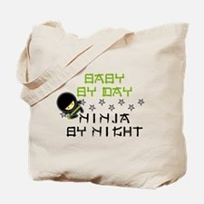 Baby Ninja Green Tote Bag