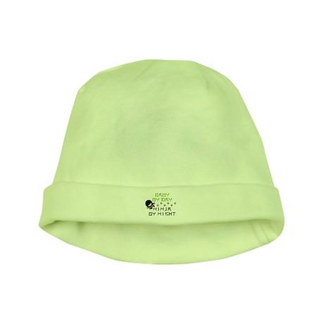 Baby Ninja Green baby hat