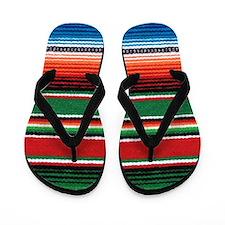 Mexican Sarape Flip Flops