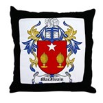 MacIlvain Coat of Arms Throw Pillow