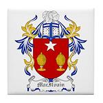 MacIlvain Coat of Arms Tile Coaster