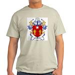 MacIlvain Coat of Arms Ash Grey T-Shirt