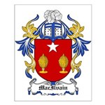 MacIlvain Coat of Arms Small Poster