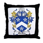 MacHan Coat of Arms Throw Pillow