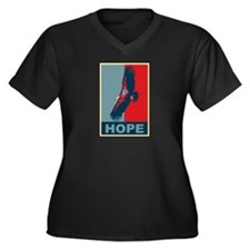 Hope: California Condor Birding T-Shirt Women's Pl