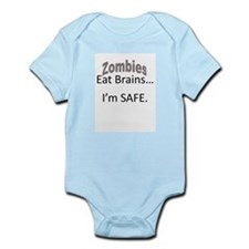 Safe From Zombies Infant Bodysuit