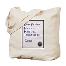 Cool Saddam Tote Bag