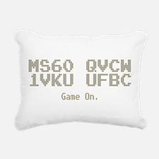 Game On. ms60 qvcw 1vku ufbc Rectangular Canvas Pi