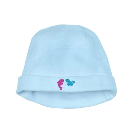 Dolphins baby hat