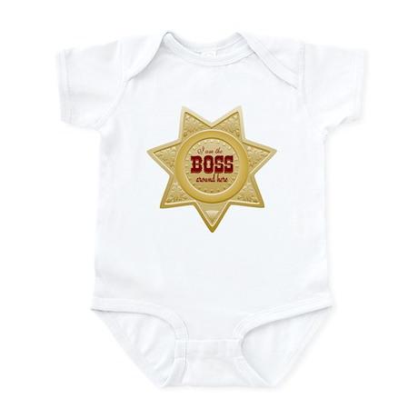 Little Sheriff Infant Bodysuit