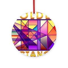 Golden Rectangle Ornament (Round)