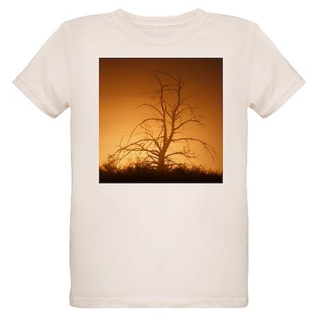 Tree over water Organic Kids T-Shirt