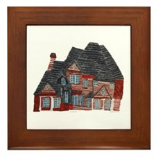 Architectural drawing by Noah Filk. Framed Tile