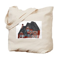 Architectural drawing by Noah Filk. Tote Bag